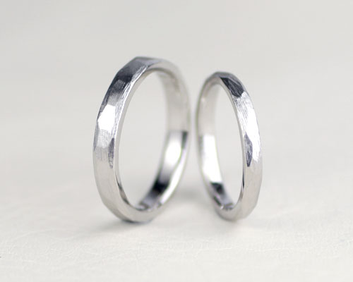 手作り感のある手作り結婚指輪
